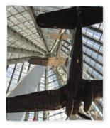 Corsairs In The National Marine Corps Museum In Triangle Virginia Fleece Blanket