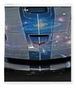 Corvette Is Out Of This World Fleece Blanket