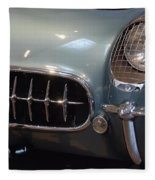 Corvette Roadster 1955 Fleece Blanket