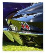 Corvette Stingray Fleece Blanket