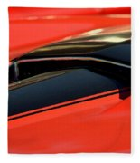 Corvette Torch Fleece Blanket