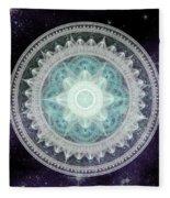 Cosmic Medallions Water Fleece Blanket