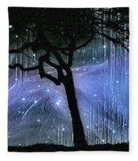 Cosmic Night Fleece Blanket