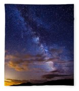 Cosmic Traveler  Fleece Blanket