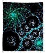 Cosmic Web Fleece Blanket