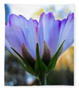 Cosmos Petals Up Fleece Blanket