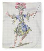 Costume Design For The Magician Fleece Blanket
