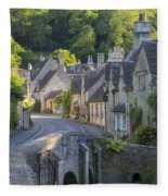 Cotswolds Morning Fleece Blanket