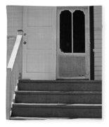 Cottage 5 Stair Steps Home Fleece Blanket
