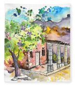 Cottage In Barca De Alva Fleece Blanket