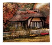 Cottage - Nana's House Fleece Blanket