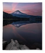Cotton Candy Skies Fleece Blanket