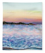 Cotton Candy Waters Fleece Blanket