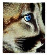 Cougar Cub Fleece Blanket