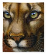 Cougar October 2011 Fleece Blanket