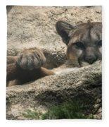 Cougar Spotted Me Fleece Blanket