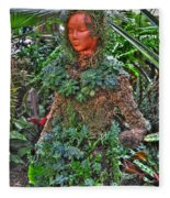Could Her Name Be Ivy... Buffalo Botanical Gardens Series Fleece Blanket