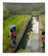 Country - A Day Out With The Girls Fleece Blanket