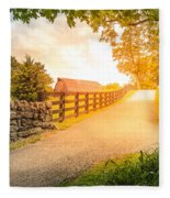 Country Alley Fleece Blanket