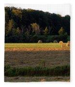 Country Bales  Fleece Blanket