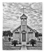 Country Chapel Fleece Blanket
