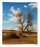 Country Clouds Fleece Blanket