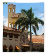 Country Club Of Coral Gables Fleece Blanket