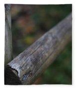 Country Fence Fleece Blanket