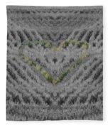 Country Heart Fleece Blanket