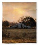 Country Heirloom Fleece Blanket