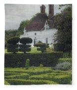 Country House Fleece Blanket