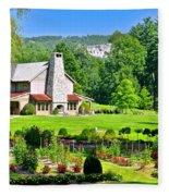 Country Inn Fleece Blanket