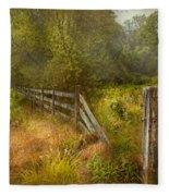 Country - Landscape - Lazy Meadows Fleece Blanket