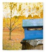 Country Letterbox Fleece Blanket
