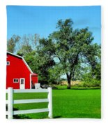 Country Living Fleece Blanket