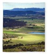 Country Scenic Fleece Blanket