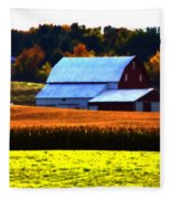 Country Side Fleece Blanket