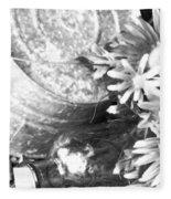 Country Summer - Bw 05 Fleece Blanket