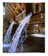 Country Waterfall Fleece Blanket