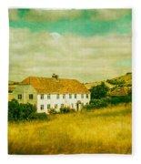 Countryside Homestead Fleece Blanket