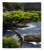 Courageous Tree  Fleece Blanket