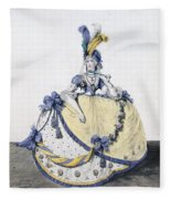 Court Dress, Fig. 106 From The Gallery Fleece Blanket