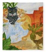 Cousins - Big Cats Fleece Blanket
