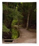 Cove Path Fleece Blanket