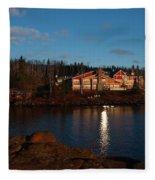Cove Point Lodge Fleece Blanket