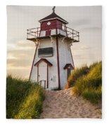 Covehead Harbour Lighthouse Fleece Blanket