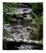 Covell Creek 1 Fleece Blanket