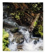 Covell Creek 4 Fleece Blanket