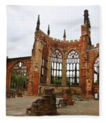 Coventry Cathedral 6003 Fleece Blanket