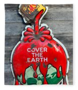 Cover The Earth Fleece Blanket